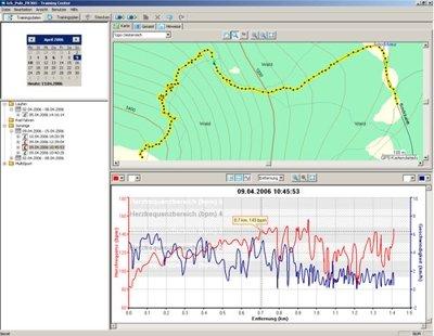 Software Garmin: Captura de Pantalla